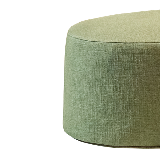 Moon Footstool | Dark Green