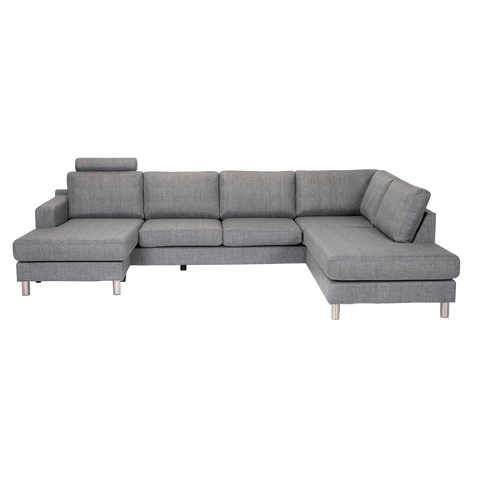 Tampa Sofa Headrest | Charcoal