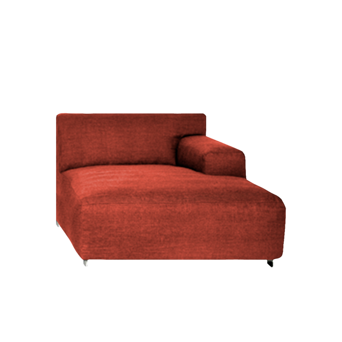 Hugo Sofa End Part Right Module | Aubergine
