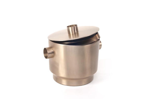 Rondo Ice Bucket (stainless steel) - Soft Copper