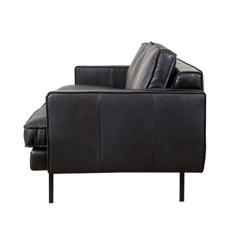 Mondial Chair | Black Leather