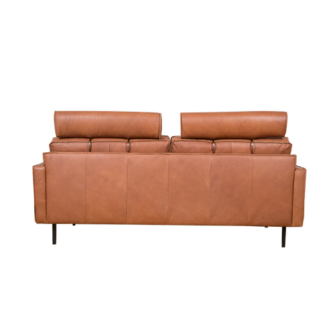 Mondial Sofa 3 Seater | Cognac Leather