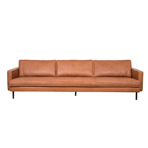 Mondial Sofa 4,5 Seater | Cognac Leather