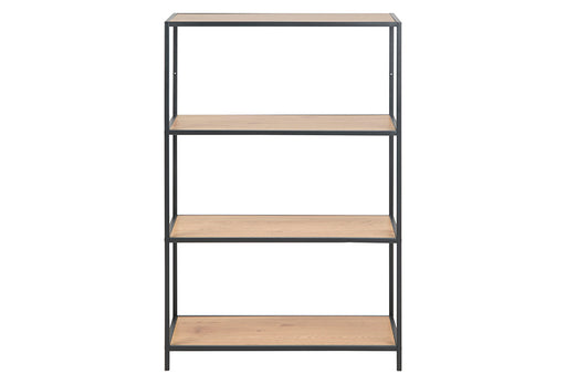 Seaford | Bookcase 2 shelves oak