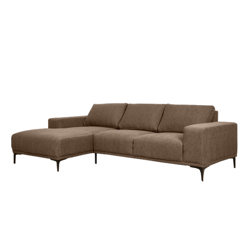 Emerson Sofa with Chaise Right | Brown