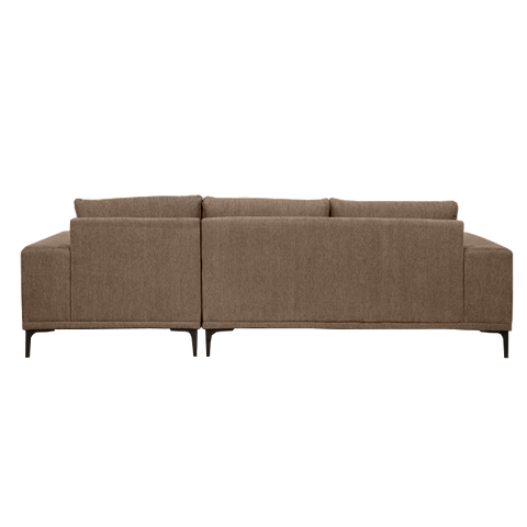 Emerson Sofa with Chaise Left | Brown
