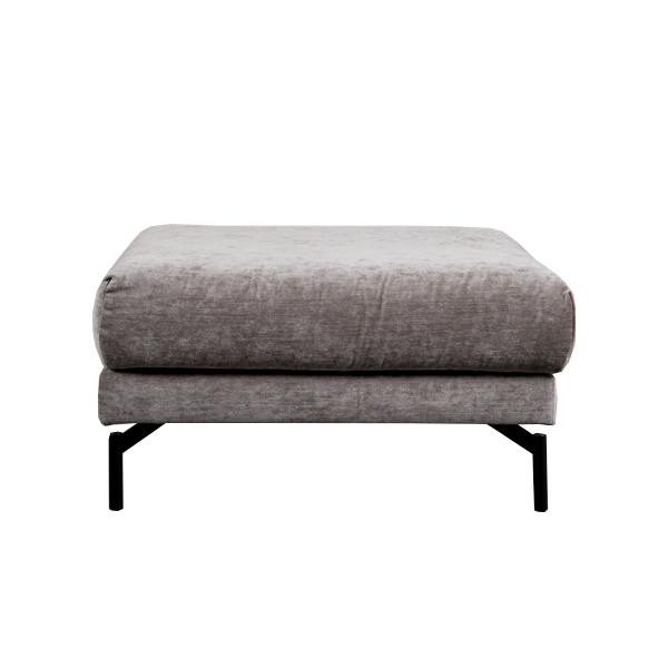 Rhodes Footstool | Light Grey