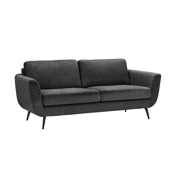 Sara Sofa 3 Seater | Charcoal