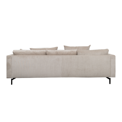 Rhodes 3 Seater Sofa XL | Beige