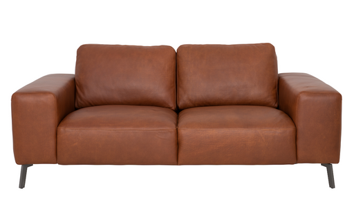 Taxton Sofa 2.5 Seater | Cognac, Leather