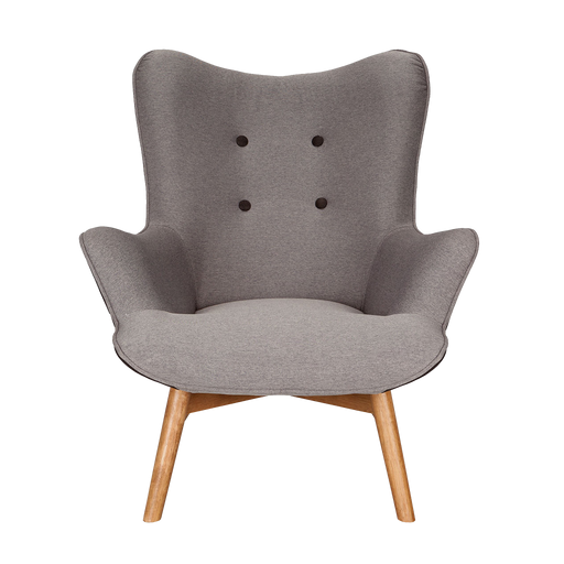 Twist Chair | Fiesta Grey, Charcoal