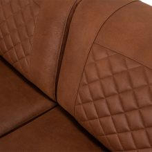 Avila Sofa 3 Seater | Kentucky Cognac
