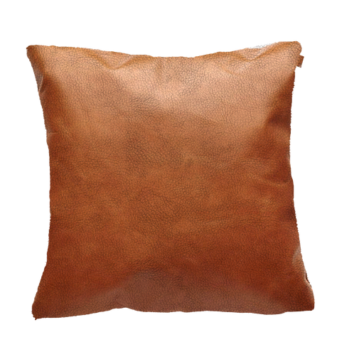 Deco Cushion |  Jesolo Cognac, Leather
