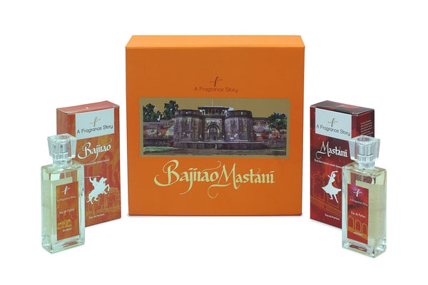 BAJIRAO AND MASTANI PERFUME GIFT SET - Zaga Concepts