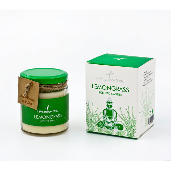 LEMONGRASS SCENT CANDLE - Zaga Concepts