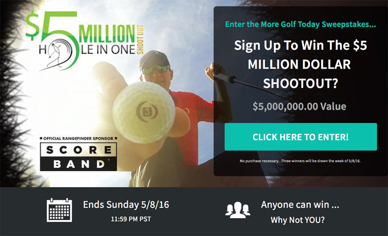 Make a Hole-in-One, Take Home $5 Million