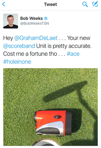 bob weeks hole in one tweet graham delaet