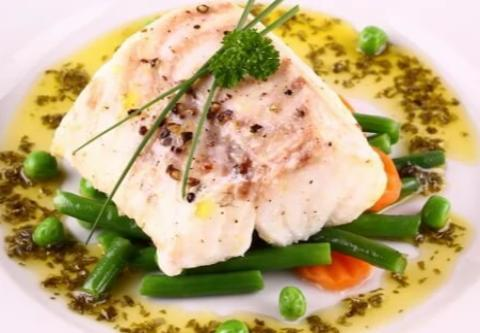 Pesto Baked Cod Filet