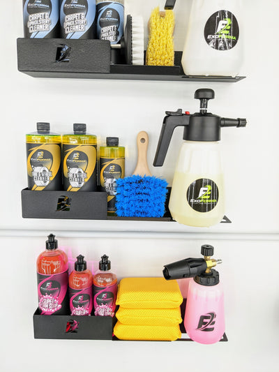 ExoForma Bottle Holder & Shelf