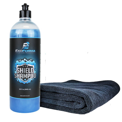 Shield Shampoo + Drying Towel (24x36)