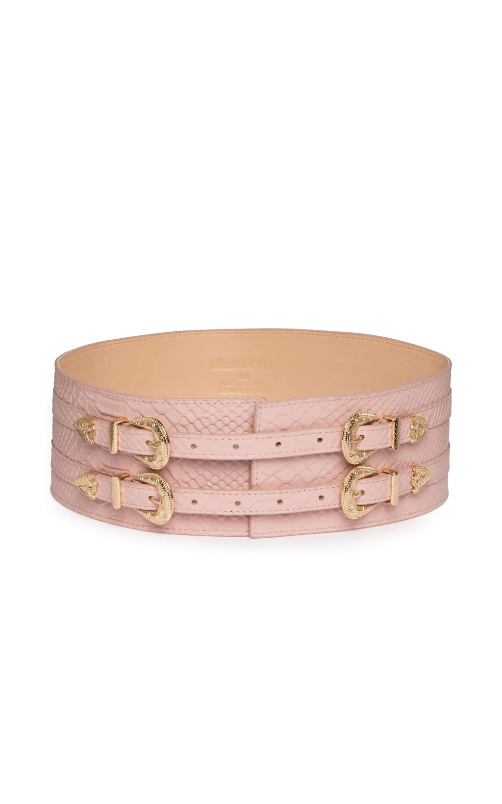 Alice McCall Walk All Over You Belt BLUSH