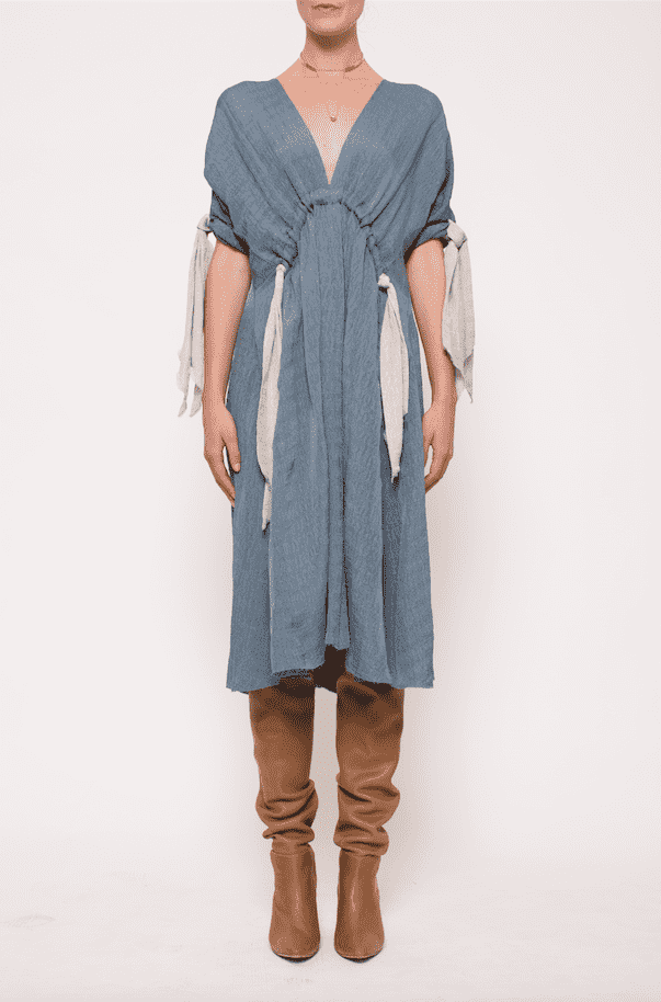 Kitx Hemp Crush Knot Dress