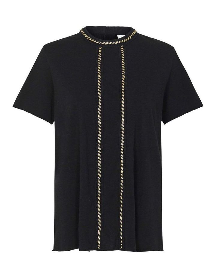Sass and Bide Beautiful Dreamer Tee BLACK