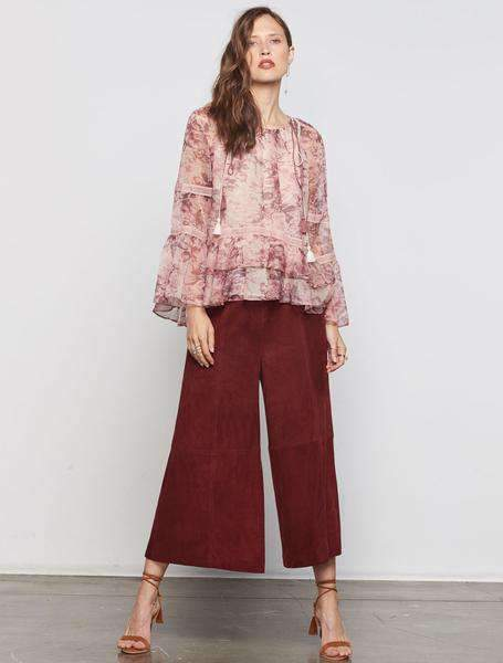 Stevie May Perception Suede Pants Culottes - Miko + Mollie