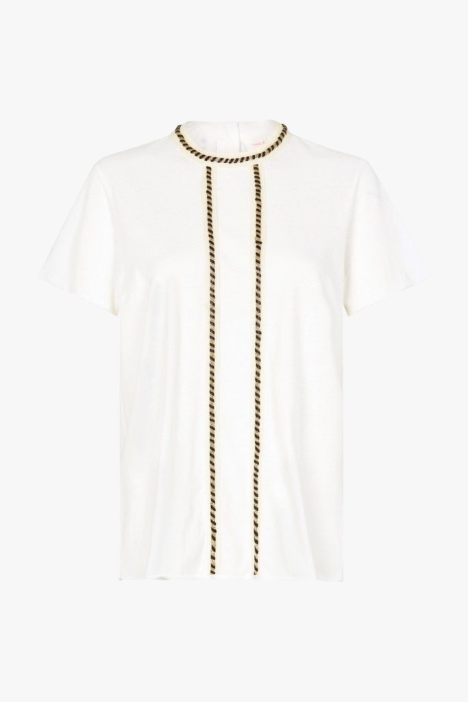 Sass and Bide Beautiful Dreamer Tee IVORY