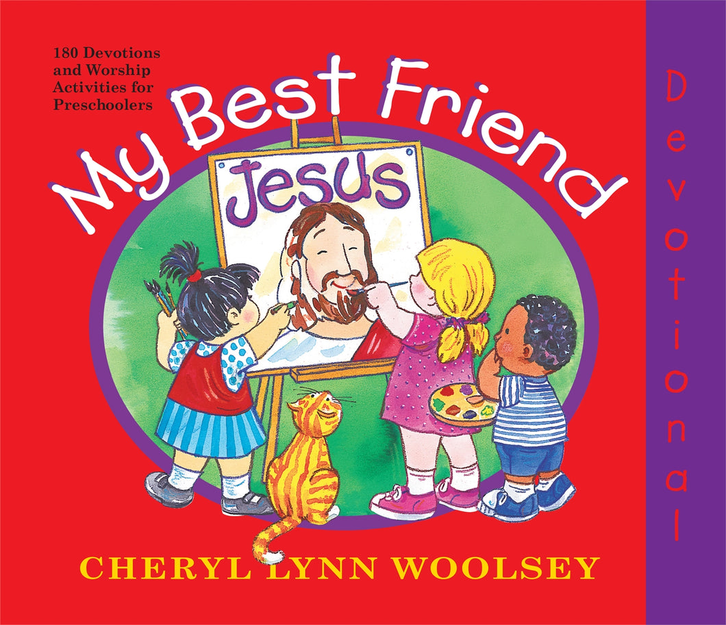 My Best Friend Jesus - 2021 Preschool Devotional
