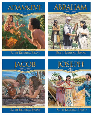 Family Bible Story 4 Book Set - (By Ruth Redding Brand) HIGHLY REDUCED PRICE!