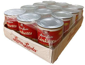 Loma Linda LINKETTS - Case of 12/20 oz cans - SPECIAL DEAL!