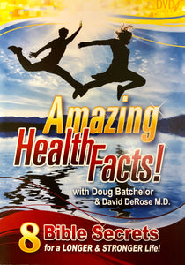 Amazing Health Facts DVD (Sharing Edition Speaker: Doug Batchelor & David DeRose