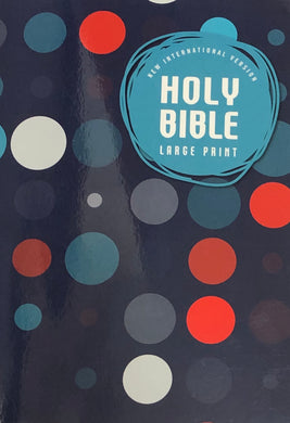 NIV Holy Bible LARGE PRINT (Paper Cover) Special Price Limited Quantities!
