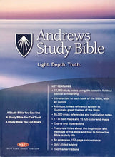 Load image into Gallery viewer, Andrews Study Bible (Black Bonded Leather) New King James Version