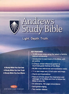 Andrews Study Bible (Black Bonded Leather) New King James Version