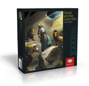 Daniel and th Lions' Den - Bible Gallery Collection Puzzle - (By Bible Gallery)