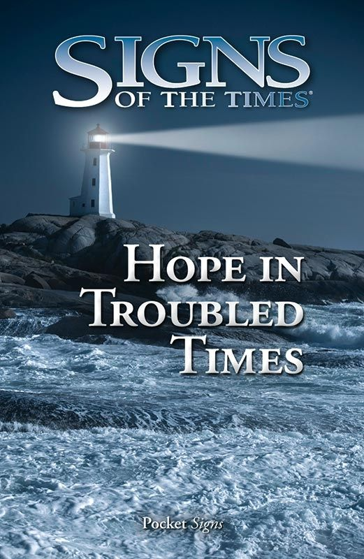 Hope in Troubled Times, pack of 100 (Signs of the Times tracts)
