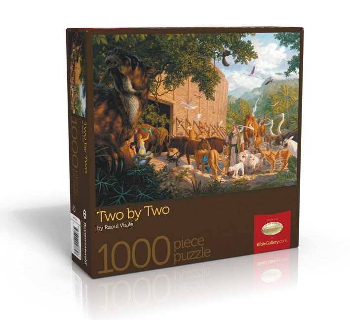 Two by Two - Bible Gallery Collection Puzzle - (By Bible Gallery)