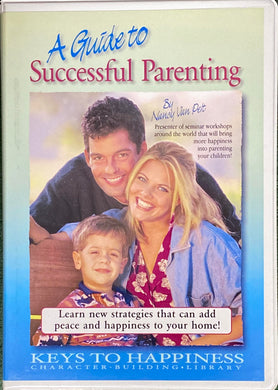 A Guide to Successful Parenting 3 CD & Workbooks set - (By Nancy Van Pelt)