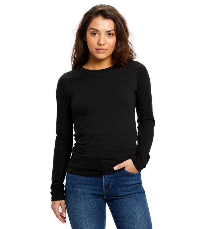Women's Long Sleeve Crew Neck
