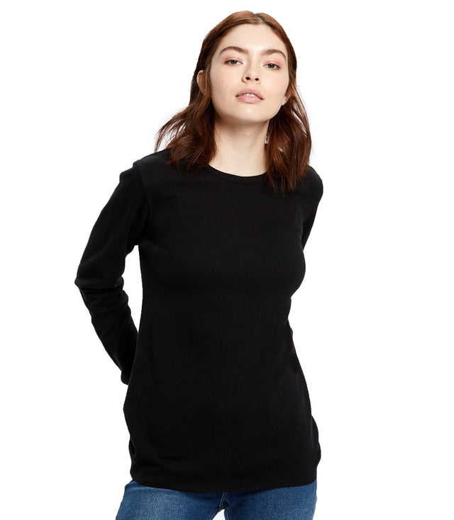 Women's Long Sleeve Thermal Crew Neck