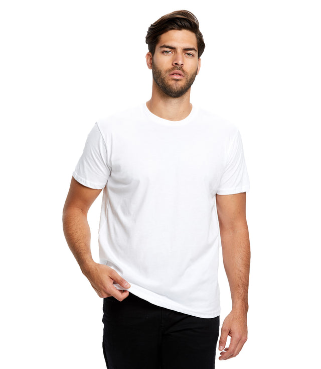 Men's Short Sleeve Organic Crew Neck