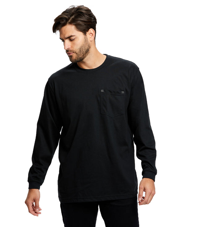Men's Long Sleeve Pocket Work Wear - Flame Resistant