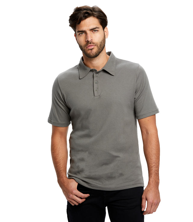Men's Luxury Supima Jersey Polo Shirt