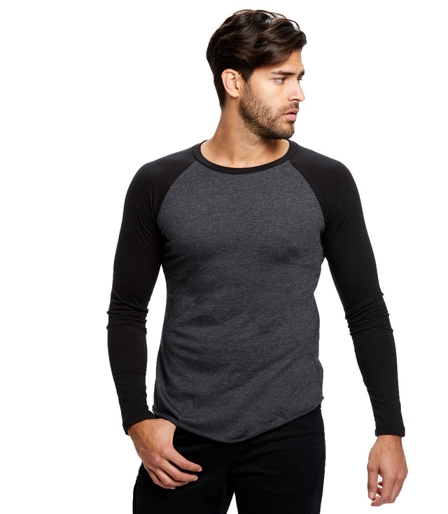 Men's Long Sleeve Baseball Raglan