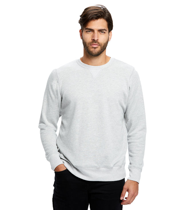 Men's Long Sleeve Pullover Crew