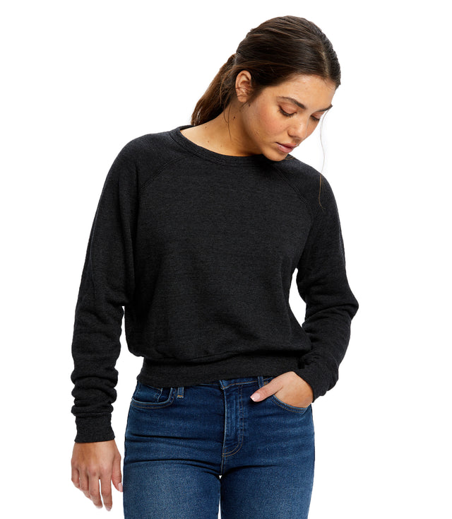 Women's Sponge Fleece Crop Top