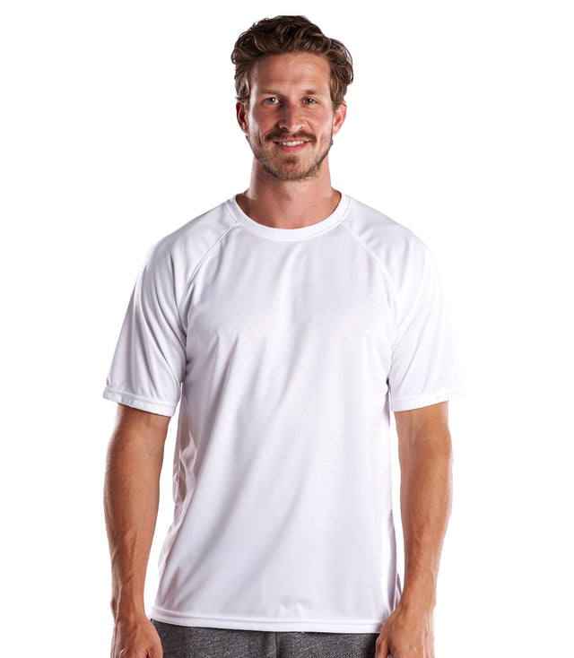 Men's Short Sleeve Raglan Performance Crew