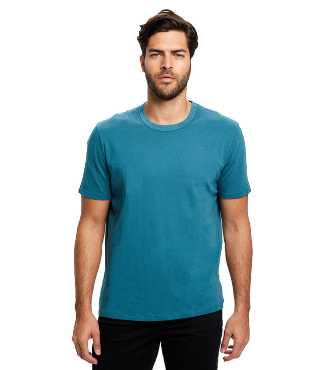 Men's Pima Crew - Garment Dyed